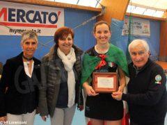 Le ragazze della Lorenzoni Bra campionesse di serie A Hockey indoor 2
