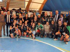 Le ragazze della Lorenzoni Bra campionesse di serie A Hockey indoor 3