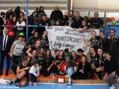 Le ragazze della Lorenzoni Bra campionesse di serie A Hockey indoor 4