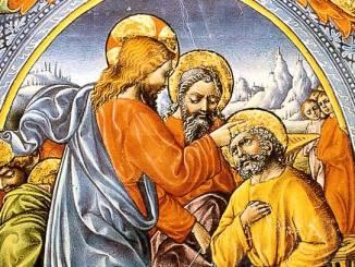 Cristo dà fiducia anche a quanti l'hanno tradito