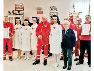 Premiati a Canelli 26 volontari attivi nella Croce rossa