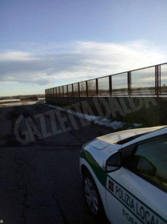 I vigili di Fossano salvano un uomo che voleva gettarsi dal cavalcaferrovia