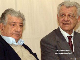 Alba intitola una parte di piazza Rossetti agli imprenditori Carlo e Franco Miroglio