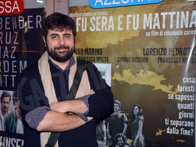 regista Emanuele Caruso