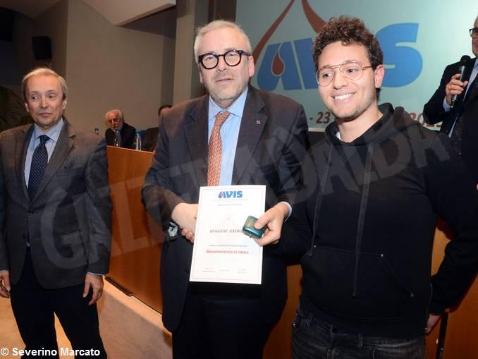 Avis Andrea Ruggeri benemerenza Giorgio Groppo