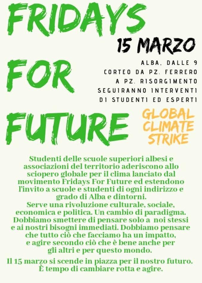Fridays for future Alba 1