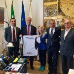 Balon: la campionessa Martina Garbarino ricevuta dal presidente del Coni