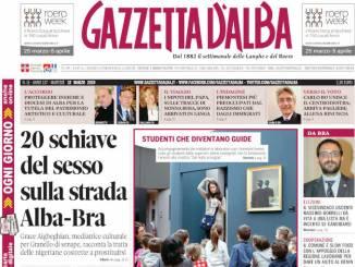 La copertina di Gazzetta d'Alba in edicola martedì 12 marzo