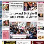 Le notizie principali del numero in edicola il 19 marzo