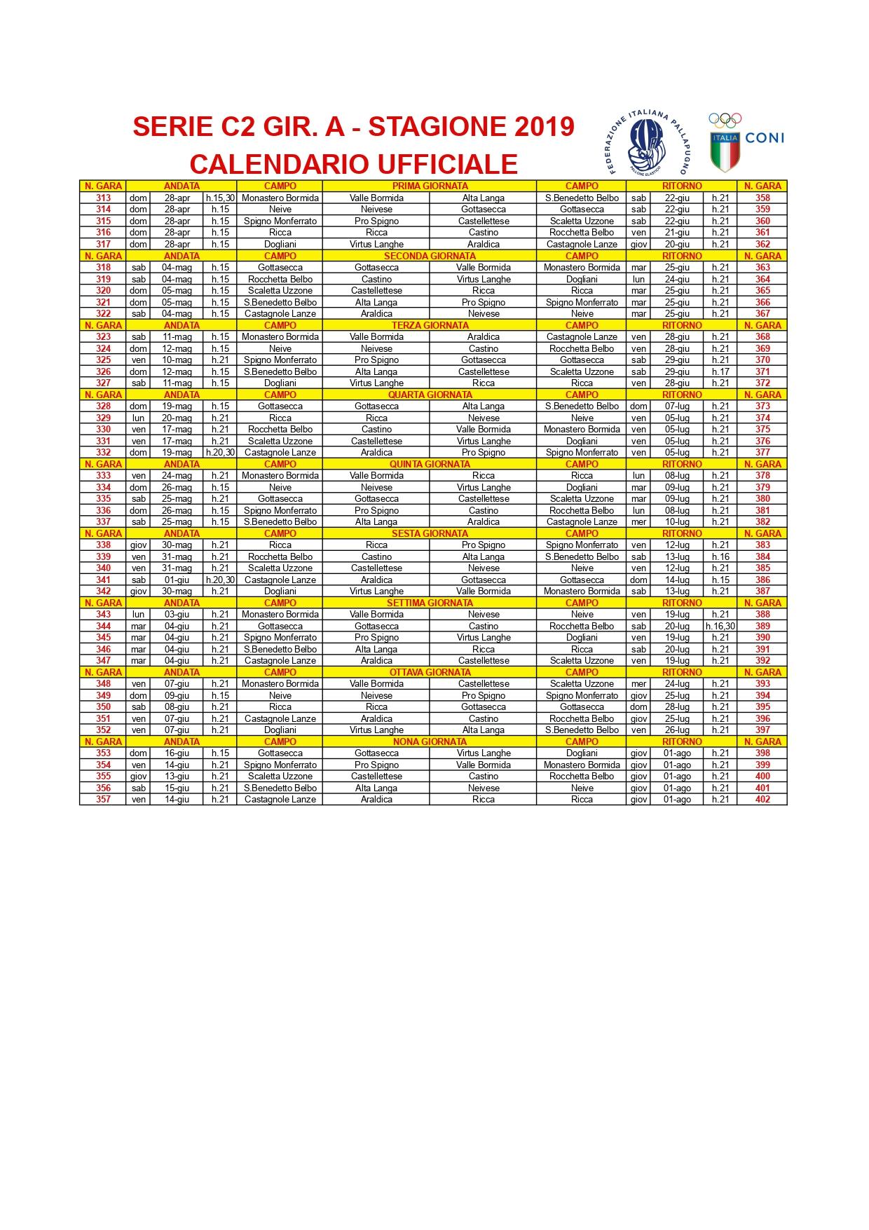 SERIE C2 GIRONE A – Calendario ufficiale_page-0001 (1)