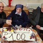Suor Eugenia festeggia i 100 anni di età e i 79 di vita religiosa Paolina