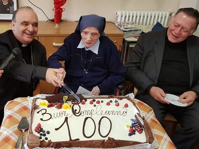 Suor Eugenia 100 anni
