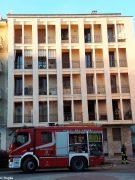 Paura per un incendio in un palazzo di piazza San Paolo ad Alba 4