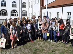 Welcome party al liceo Cocito per i ragazzi di Medford