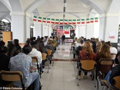Welcome party al liceo Cocito per i ragazzi di Medford 4