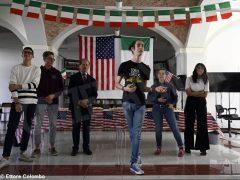 Welcome party al liceo Cocito per i ragazzi di Medford 9