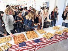 Welcome party al liceo Cocito per i ragazzi di Medford 13