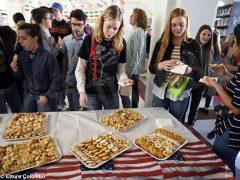 Welcome party al liceo Cocito per i ragazzi di Medford 14