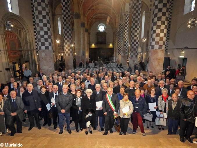 Alba feseggia i matrimoni dalle nozze d'oro in avanti: 145 coppie presenti 2