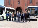 Presentati i due autobus elettrici per la città di  Alba