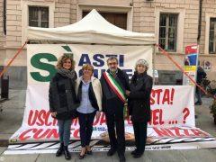 Amministratori albesi al presidio permanente per l'autostrada Asti-Cuneo 2