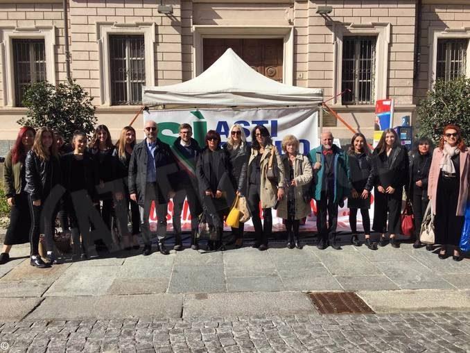 Amministratori albesi al presidio permanente per l'autostrada Asti-Cuneo 3