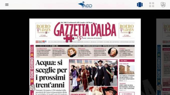 Gazzetta d'Alba e altri 10 settimanali diocesani piemontesi sono accessibili da una sola piattaforma
