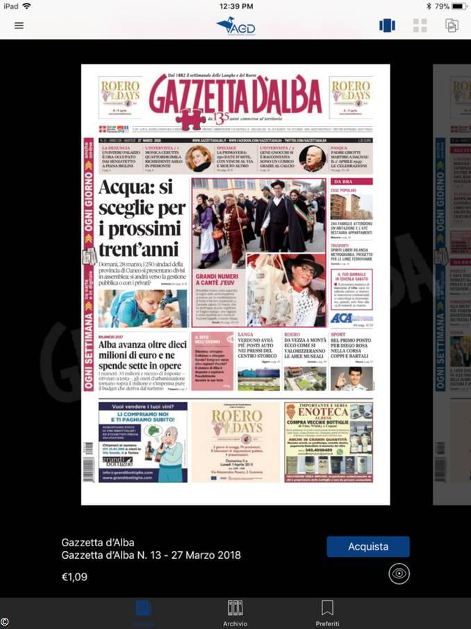 app Agd Gazzetta