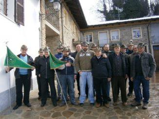 Castino: per gli Alpini festa del tesseramento e dei 40 anni