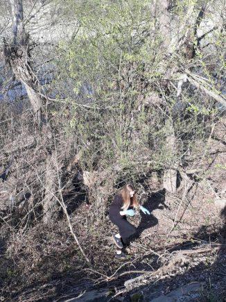 Collettivo Mononoke a parco Tanaro per ripulirlo 4