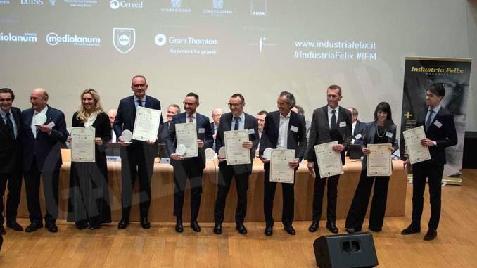 Industria felix premia Merchesi di Barolo e Ferrero tra le migliori 53 imprese di Piemonte, Liguria e Valle d'Aosta