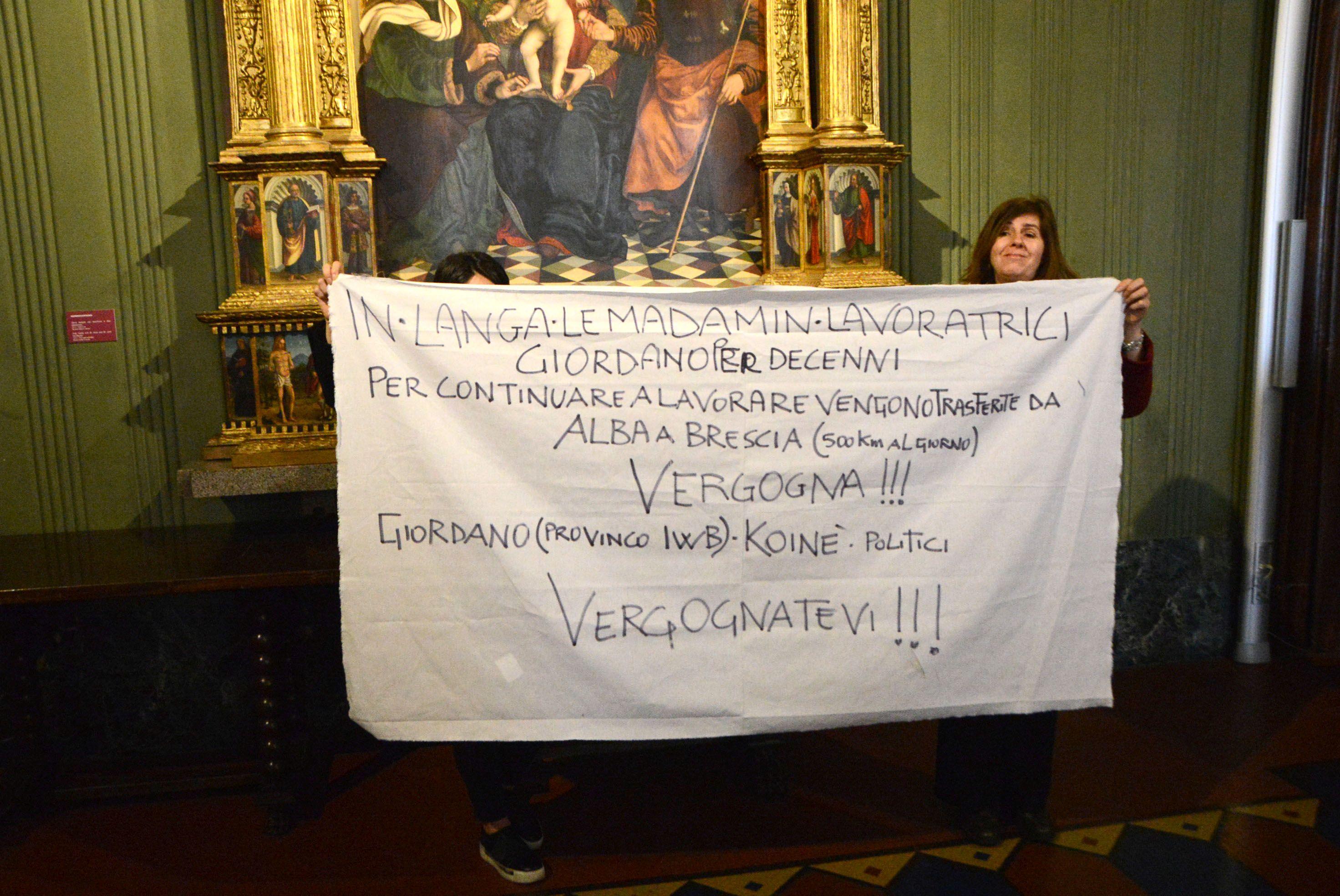 protesta Giordano
