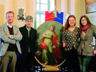 Dopo il restauro La primavera è ritornata nella sala consiliare di San Damiano