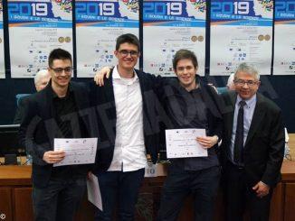 Tre studenti del Cocito premiati al prestigioso concorso I giovani e le scienze: a settembre andranno ad Abu Dhabi