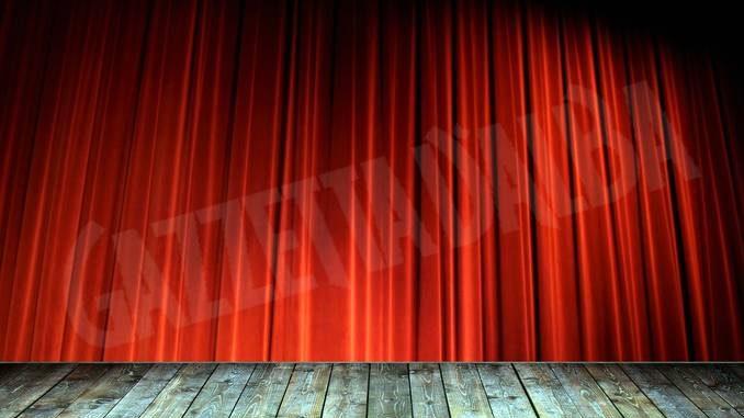 teatro palcoscenico sipario