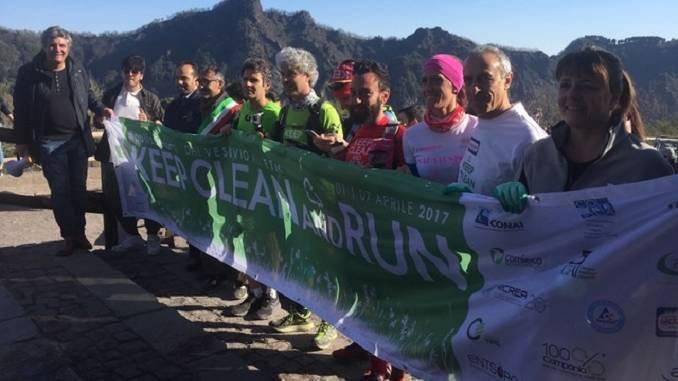 Roberto Cavallo si prepara per la corsa che fa bene all'ambiente