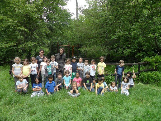 Festa dell'albero nel bosco dei bambini di Cisterna