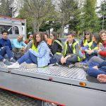 Raccolti tre camion di rifiuti abbandonati a San Cassiano