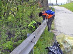 Raccolti tre camion di rifiuti abbandonati a San Cassiano 4