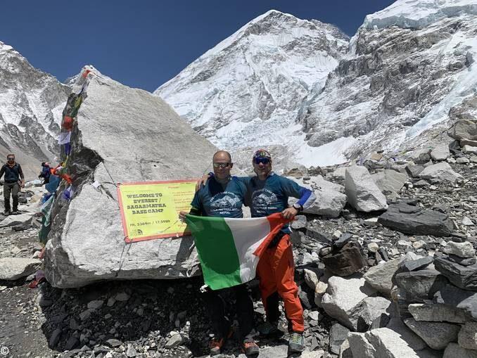 Due medici albesi raggiungono il Campo base dell'Everest