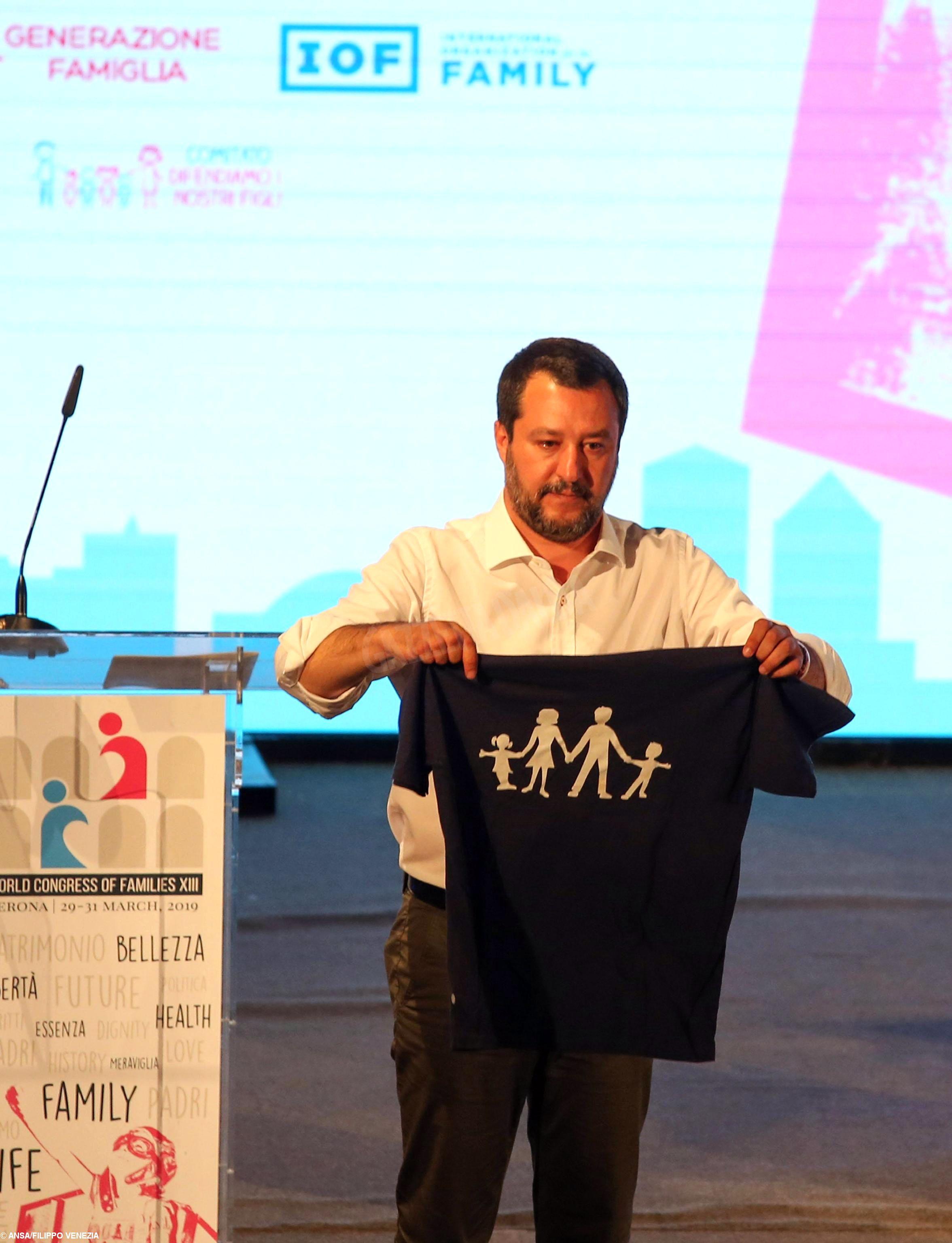 Editoriale sciortino_Salvini_giornali_ansa