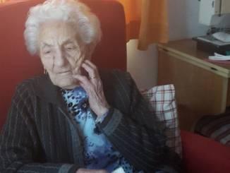 Erminia Bianchini compie 111 anni, è la più anziana del Piemonte
