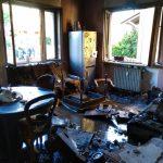 In fiamme un alloggio a Bandito per una fuga di gas
