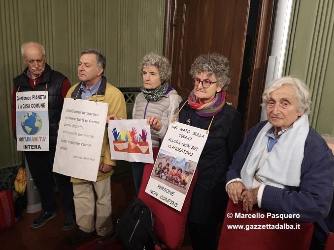 Protesta contro decreto Salvini