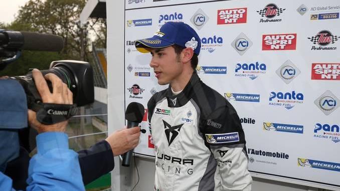 Campionato Tcr: Matteo Greco sul podio a Monza 1