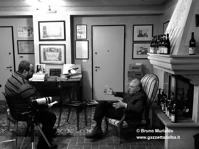 Oddero intervistato da Marcello Pasquero