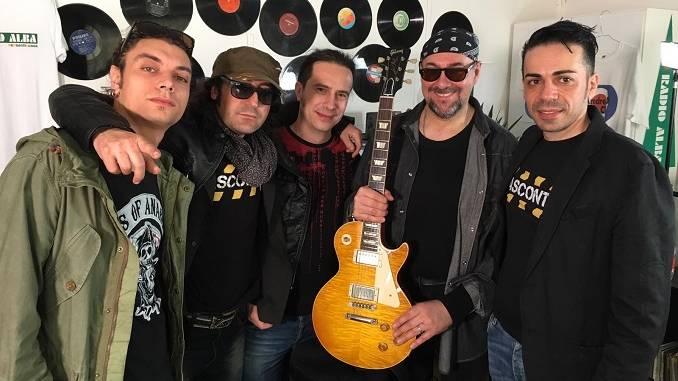 I Vascontigo hanno suonato con il chitarrista del Blasco Andrea Braido