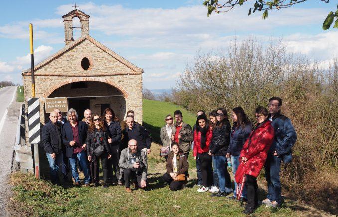Ospiti da cinque nazioni europee hanno apprezzato i muretti a secco