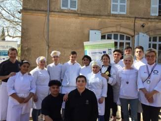 Gli allievi di Alba Accademia Alberghiera a Cannes