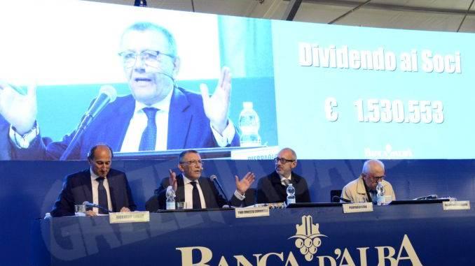 Tantissimi soci per l'assemblea di Banca d'Alba: erano in 16.461 1